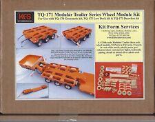 Kit Form Service TQ171 - Modular Trailer Series Wheel Module Kit.  1/24th scale.