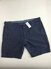 Polo Ralph Lauren Men's Slim Fit Shorts 60 Linen 40 Silk Size 36w Blue Coastal