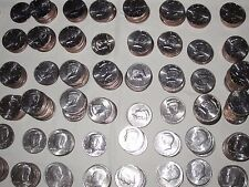 Choose 20 Different P&D Coins One Roll AU/BU 1971-2003 Kennedy Half Dollars!