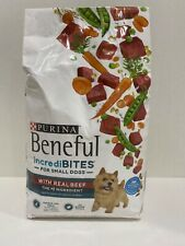 Purina Beneful Incredibites for Small Dogs Dry Dog Food with Real Beef - 3.5LB