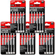 25 x TopsTools T144D Fast and Straight Cut Jigsaw Blades For Wood Dewalt Bosch
