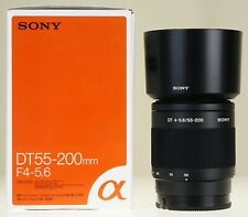 Sony SAL 55-200mm f/4.0-5.6 DT Lens, New in Box