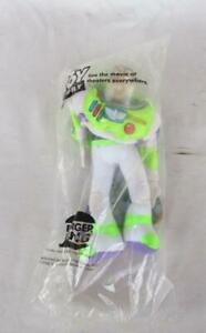 "BURGER KING TOY STORY BUZZ LIGHTYEAR 9"" PLUSH TOY NEW IN SEALED PACKAGE"