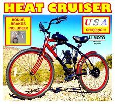 "2-STROKE 66c/80cc BICYCLE MOTOR COMPLETE DIY MOTORIZED BIKE KIT WITH 26"" BIKE"