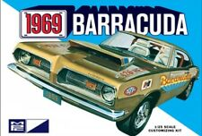 1969 Plymouth Barracuda 1:25 Scale MPC Detailed Plastic Car Kit