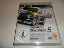PlayStation 3 PS 3 gran turismo 5 Academy Edition