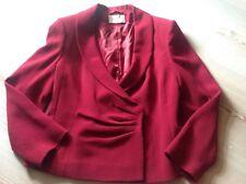 Giacca sera London rosso cappotto feste14 UK, 40 EU, 44-46 I come nuova Natale