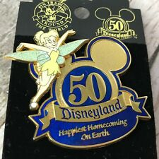 Disneyland 50th Anniversary Tinkerbell Collector Pin