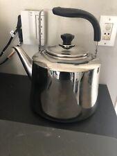 Rare Huge! Stainless Steel Tea Kettle Pot 10 Liter Restaurant Camping Catering