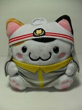 Maruneko Japan Firefighter Calico Cat 16cm Plush Kawaii Sanrio Hello Kitty San-X