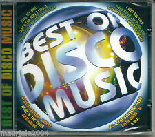 Best of Disco Music (2000) CD NUOVO Kung Fu Fighting Video killed the radio star