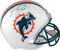Jason Taylor Miami Dolphins Signed Throwback 1997-2012 Helmet & HOF2017 Insc