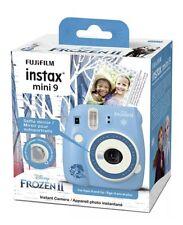 New Fujifilm Instax Mini 9 Disney Frozen 2 Edition Instant Camera Kids