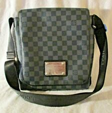Louis Vuitton Inventeur Graphite Messenger Crossbody Bag Date Code M51210