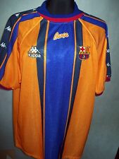 FC Barcelona 1997 1998 L Kappa Away TOP CONDITION Shirt jersey