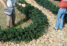 """4-pezzo Jordan siepe verde scuro per 100 cm di lunghezza per h0 """"ad un prezzo speciale"""" 13f-4"""