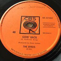 "THE BYRDS...GOIN' BACK - - Rare 1967 Australian CBS 7"" 45 Psych Folk"