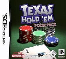NINTENDO DS 3DS TEXAS HOLD EM POKER Casino ****Neuwertig