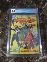 Amazing Spider-Man 129 5.0 CGC Graded 1st Punisher!