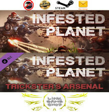 Infested Planet + Infested Planet - Trickster's Arsenal DLC PC Digital STEAM KEY