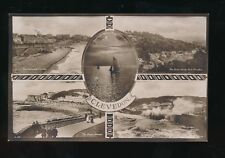 Somerset CLEVEDON M/view used c1930s RP PPC