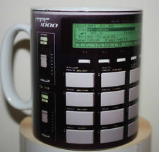 Custom black AKAI MPC 1000 sampling sampler novelty mug cup dj producers studio