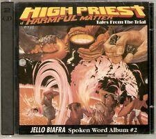 Jello Biafra - Spoken Word Album #2 High Priest Of Harmful Matter (2CD) NEW