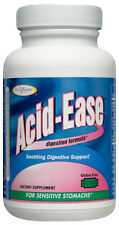 Acid Ease (+Bonus) Digestive Enzyme Aid for Sensitive Acidic Burning Stomachs