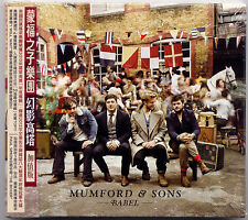 Mumford & Sons: Babel - Deluxe Edition (2013) CD OBI TAIWAN