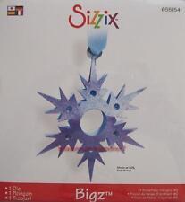 Sizzix Bigz SNOWFLAKE  #2 HANGING 3-D 655154 CHRISTMAS