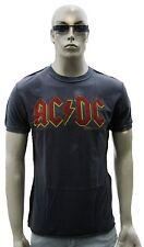 Amplified AC/DC ACDC logo logo rock star vintage vip culte wow t-shirt G.