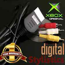 A/V Cable Cord (BRAND NEW) XBOX Microsoft Original (AV Audio Video, x-box)