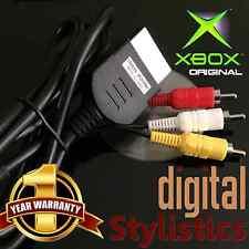 A/V Cable Cord (BRAND NEW) XBOX Microsoft Original (AV Audio Video, x-box)