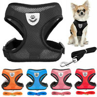 Correa para perro Pet Harness Puppy Cat Chaleco Collar Para Chihuahua Bulldog
