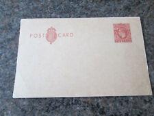 Postcard - King George - 2d - Pre Paid Stamp