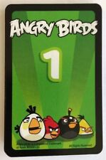 +Angry Birds Game Knock on Wood 10 Green Mission Cards Replacement Parts Pieces