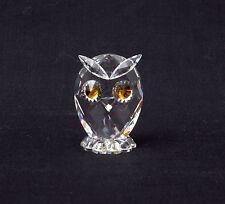 Swarovski Crystal Woodland Friends - Mini Owl 7654 NR 038 000 Retired