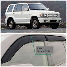 IE40192 Window Visors Vent Wide Deflectors For Isuzu Trooper (LS) 1992-1999