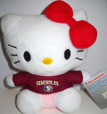 FLORIDA STATE U. FSU SEMINOLES 6-INCH HELLO KITTY SANRIO STUFFED TOY ANIMAL