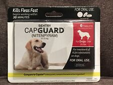 Sentry Capguard Nitenpyram Oral Flea Treatment Tabs 6ct Dogs over 25 lbs