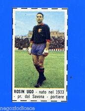 CORRIERE DEI PICCOLI 1966-67 - Figurina-Sticker - ROSIN - GENOA -New