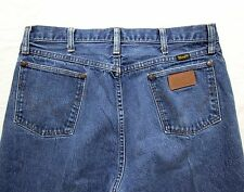 Vtg WRANGLER Jeans 33 x 34 ~ USA MADE ~ cowboy denim EUC rockabilly