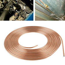 "Copper Carbon Steel Brake Line Tubing Kit 3/16""OD 25 Foot Coil Roll for All Auto"