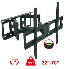 "Full Motion TV Wall Mount Bracket 32 40 42 46 47 50 55 60 65 70 "" LCD LED Plasma"