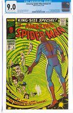 Amazing Spider-Man Annual #5 CGC 9.0 1968 OW-W 1st App Peter Parker's Parents