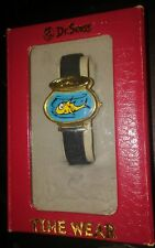 Dr Seuss One Fish Two Fish Watch 1998 W/Original Box Rare Never Worn Used