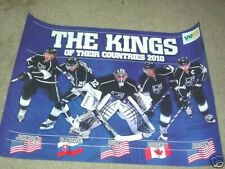 Los Angeles Kings 2010 Winter Olympians Poster