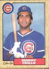 1987 O-Pee-Chee Baseball Card #32 Manny Trillo