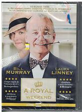 A Royal Weekend (2013) Italian DVD