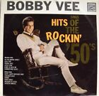 **BOBBY VEE SINGS HITS OF THE ROCKIN` `50`s VINYL LP IN VERY GOOD CONDITION**